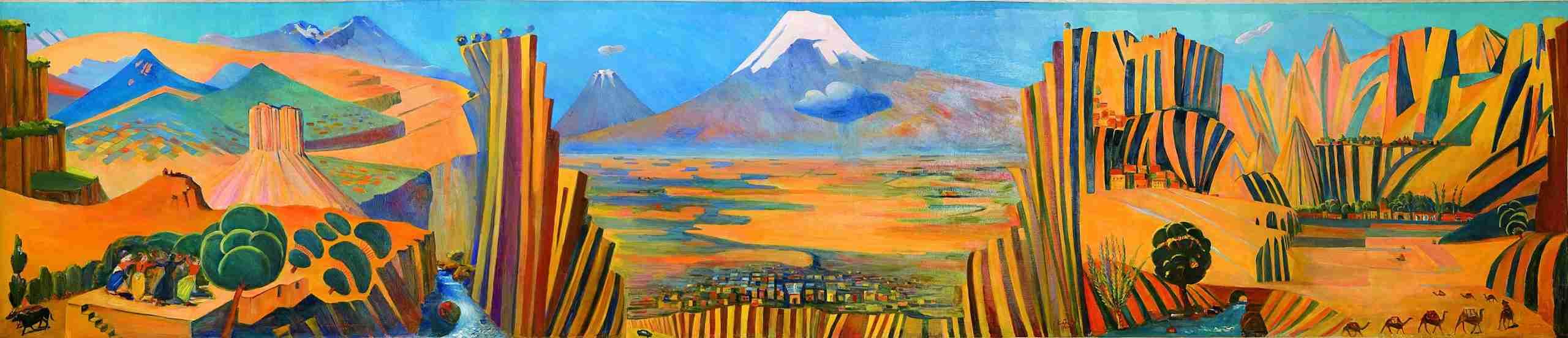 Saryan painting
