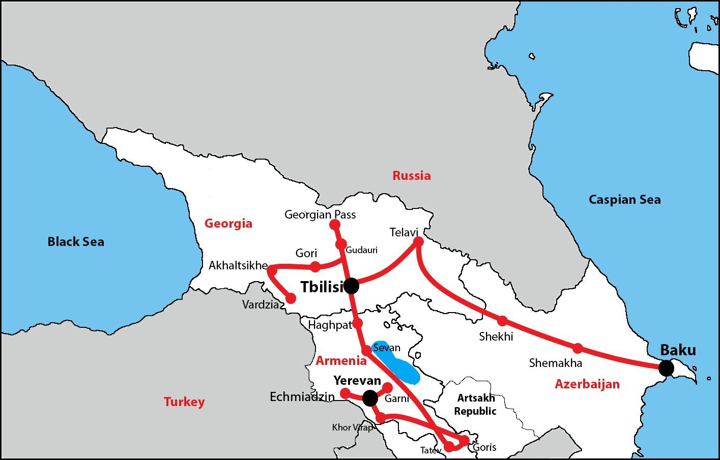 Caucasus Tour (Armenia-Georgia-Azerbaijan)