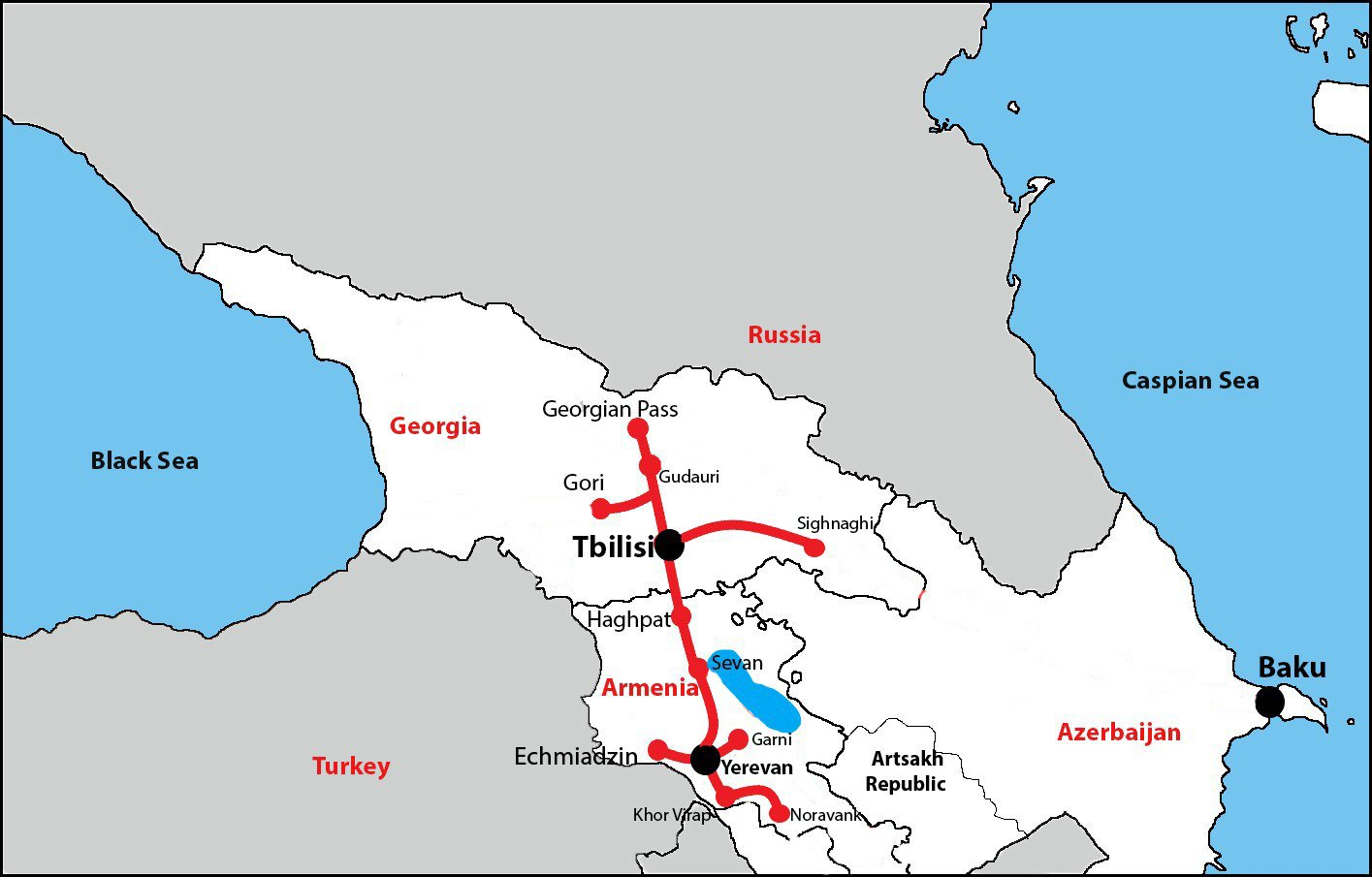 Tour to Armenia & Georgia