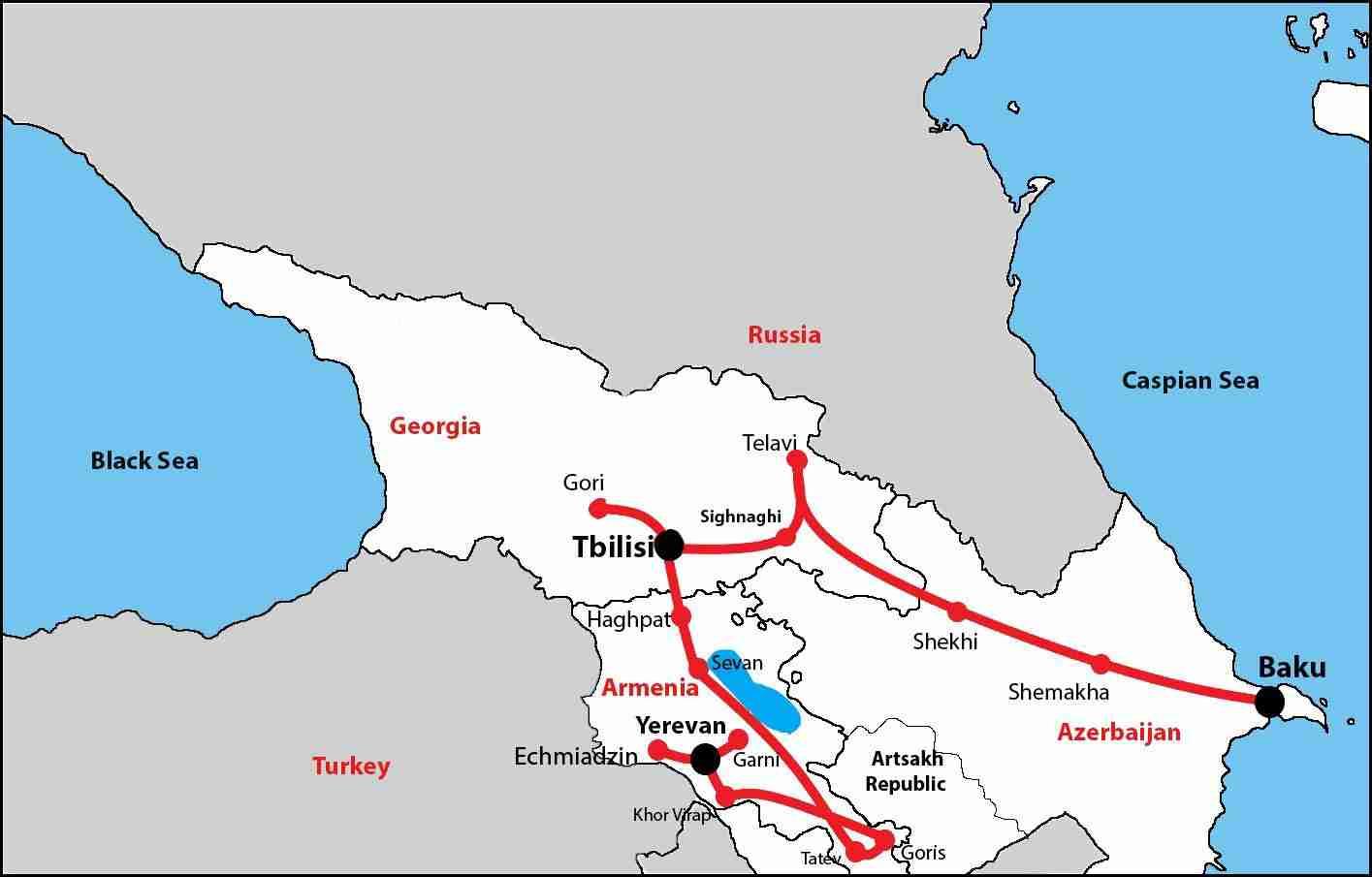 Grand Caucasus Tour ( Tour to Armenia, Georgia and Azerbaijan)