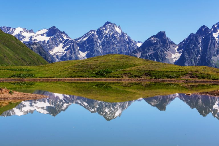 Lake in Caucasus