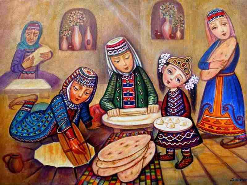 Armenian cooking