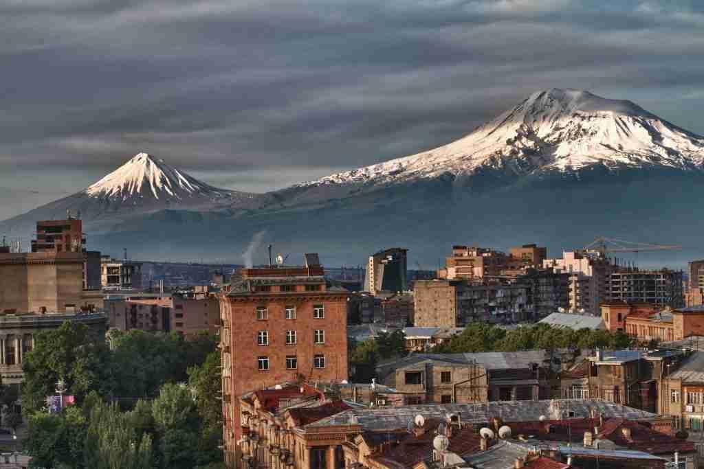 Mount-Ararat-Yerevan-Cascade