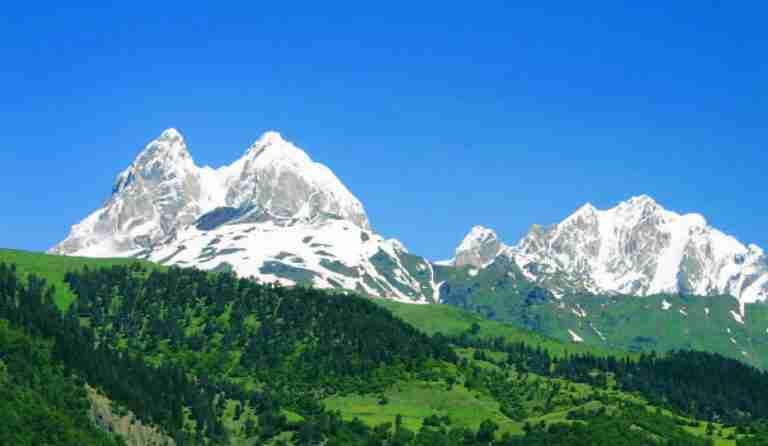 Mount Ushba Svaneti