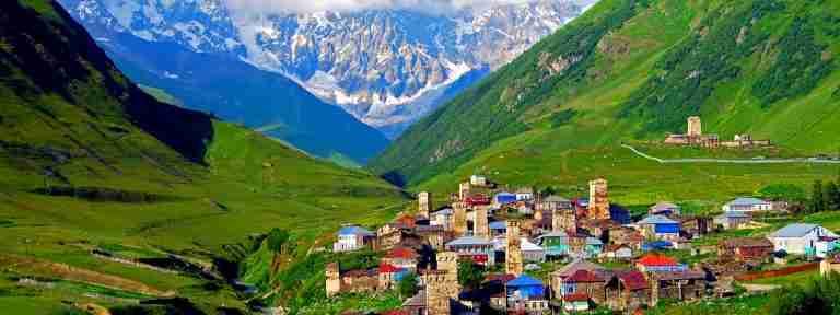 Hiking in Upper Svaneti