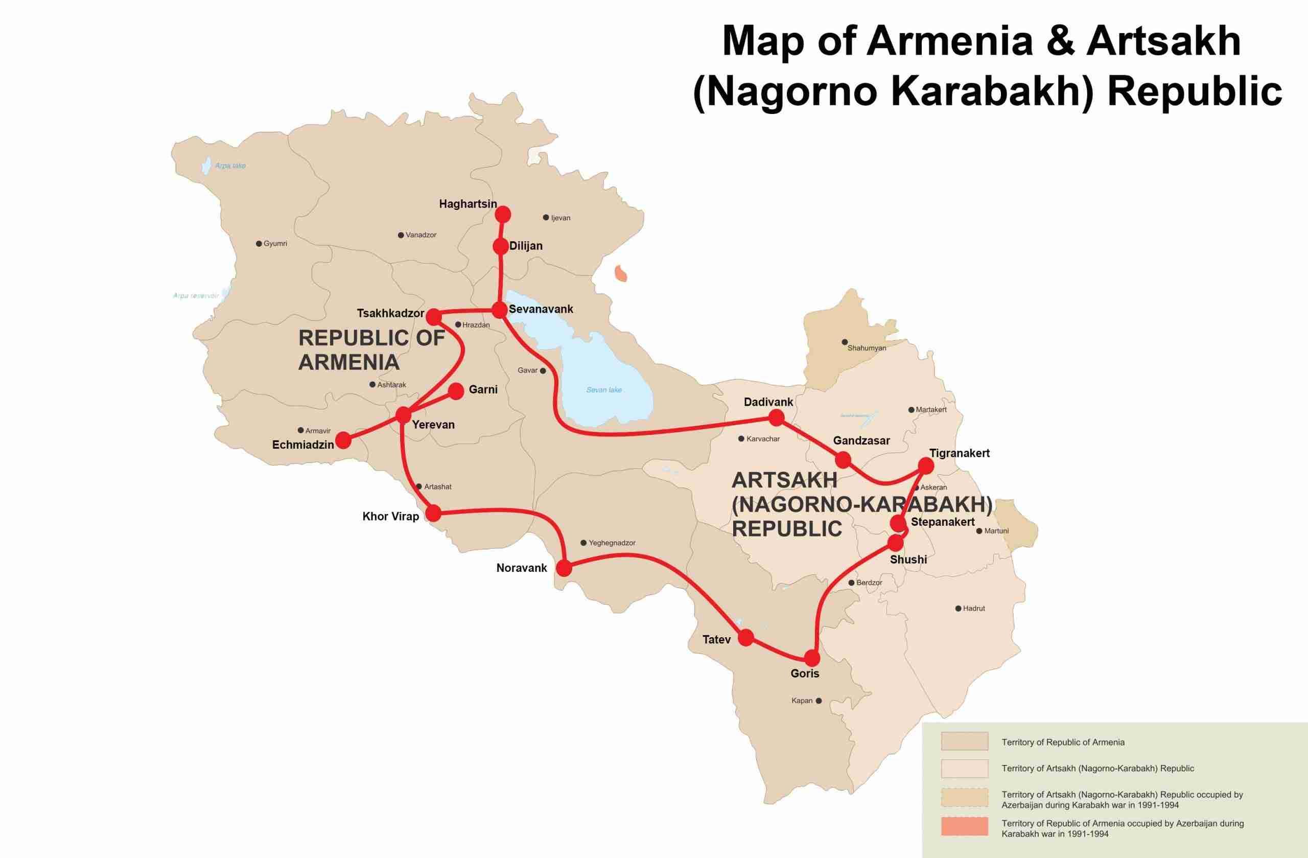 Tour to Armenia & Karabakh