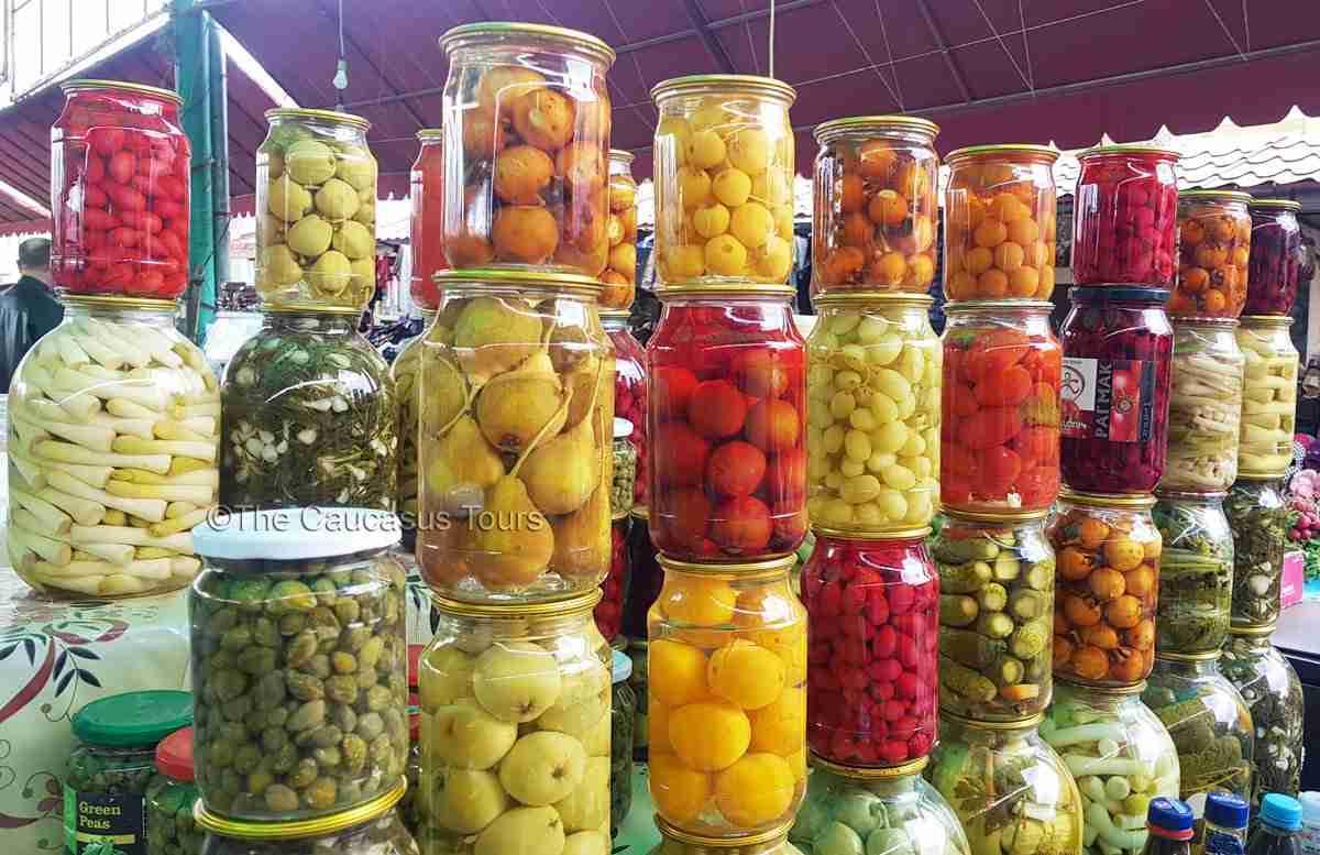 Bazaar in Stepanakert